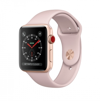 Часы Apple Watch Series 3 Cellular 38mm Aluminum Case with Sport Band