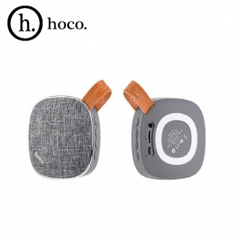 Портативная bluetooth колонка HOCO BS9 Light textile desktop