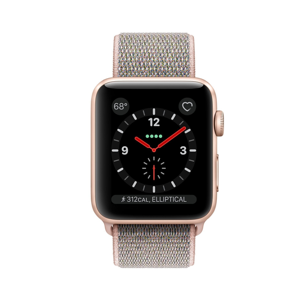 Часы Apple Watch Series 3 Cellular 38mm Aluminum Case with Sport Loop