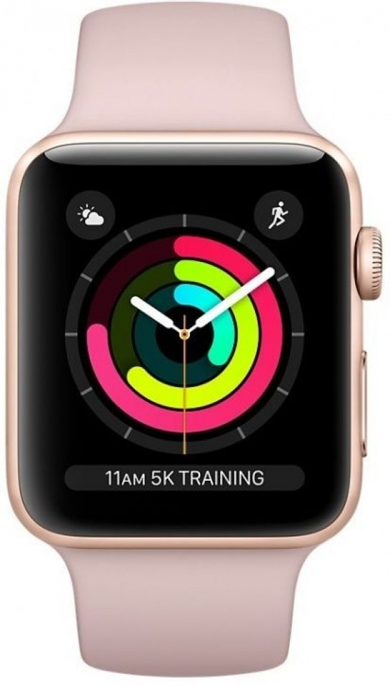 Часы Apple Watch Series 3 38mm Aluminum Case with Sport Band