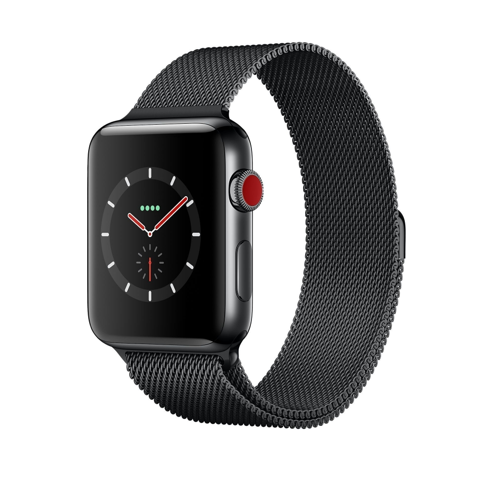 Часы Apple Watch Series 3 CellSTCSular 42mm Stainless Steel Case with Milanese Loop