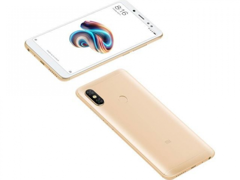 Смартфон Xiaomi Redmi Note 5 4/64GB Золотистый Global Version