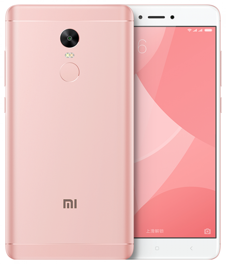 Смартфон Xiaomi Redmi Note 4X 3/32GB Розовый
