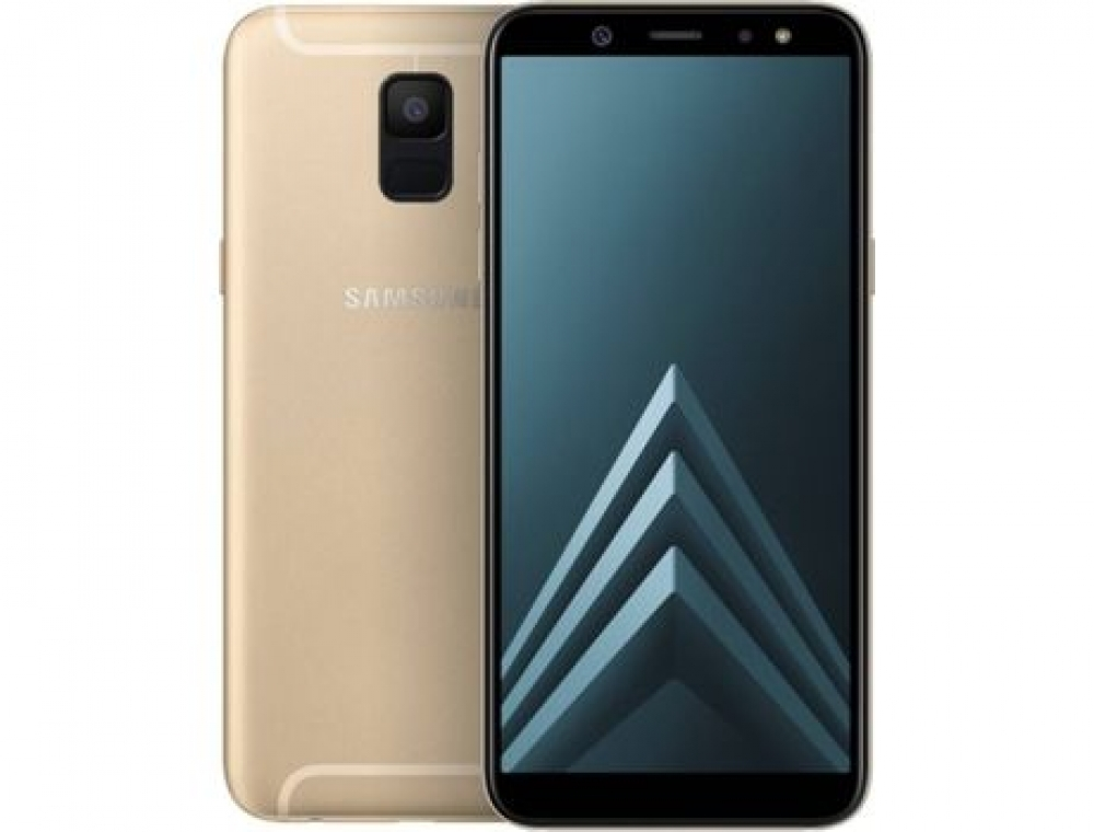 Смартфон Samsung Galaxy A6 32GB Золотистый