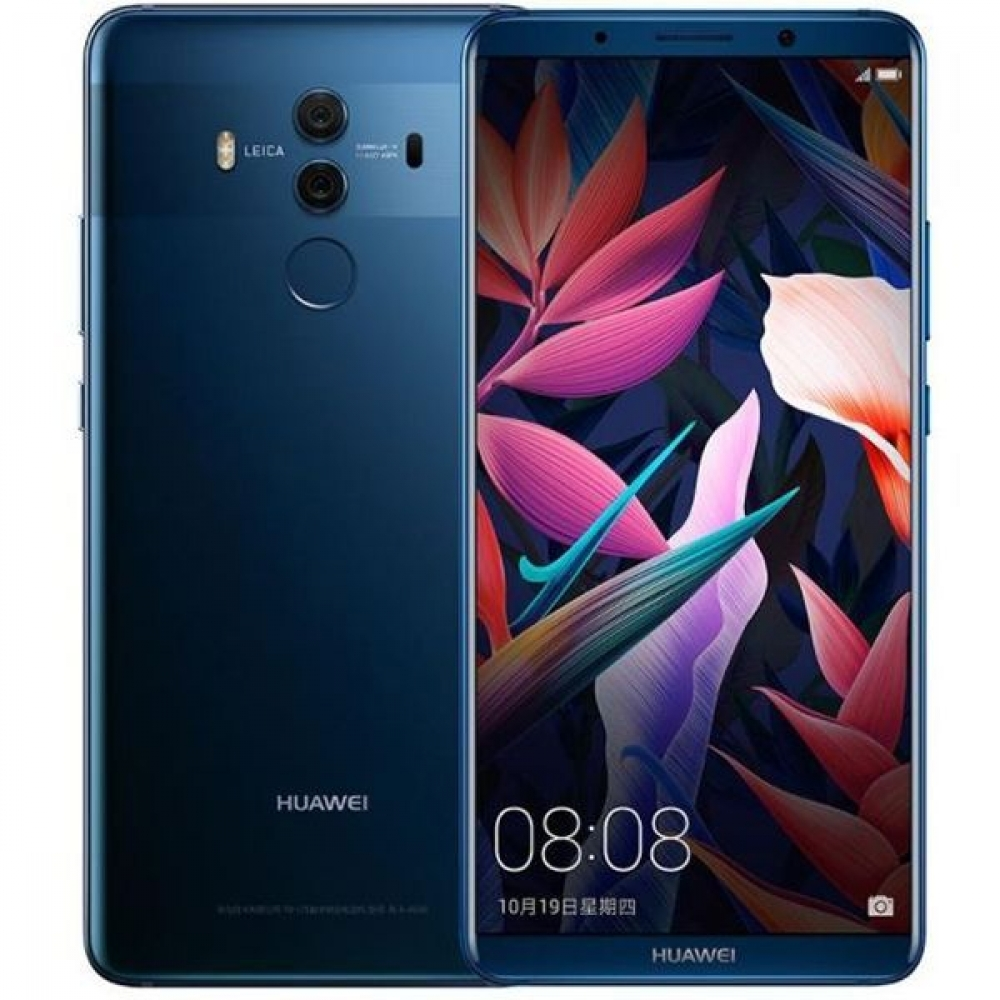 Смартфон Huawei Mate 10 Pro 6/128GB Dual Sim Midnight Blue