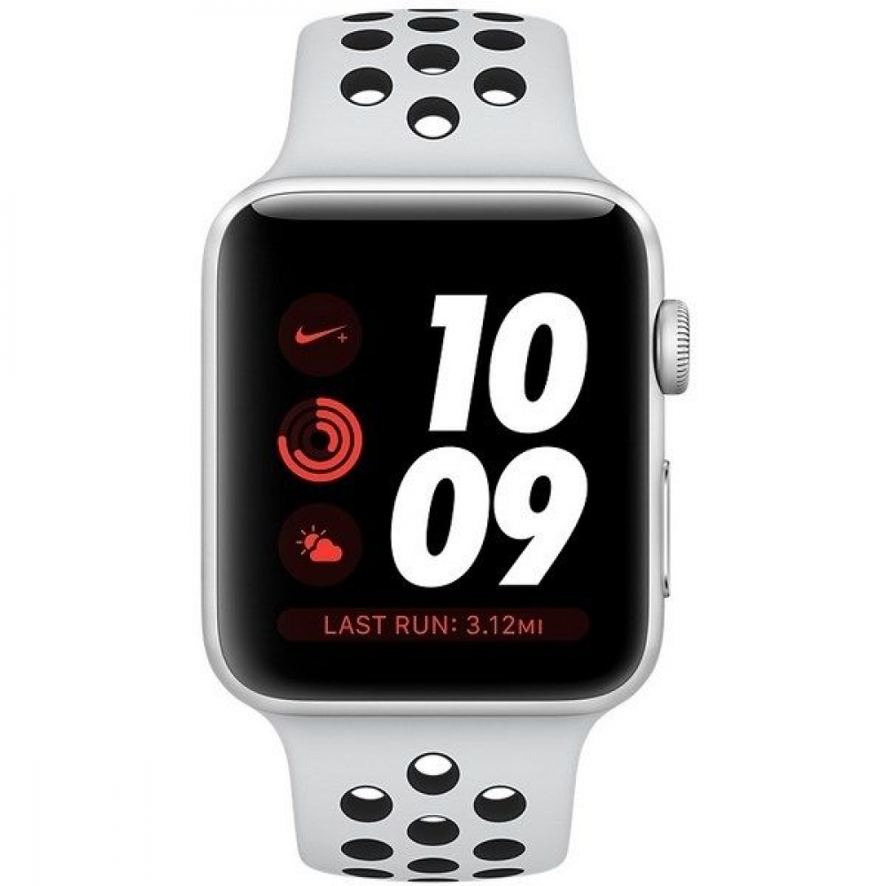 Часы Apple Watch Series 3 Cellular 42mm Aluminum Case with Nike Sport Band